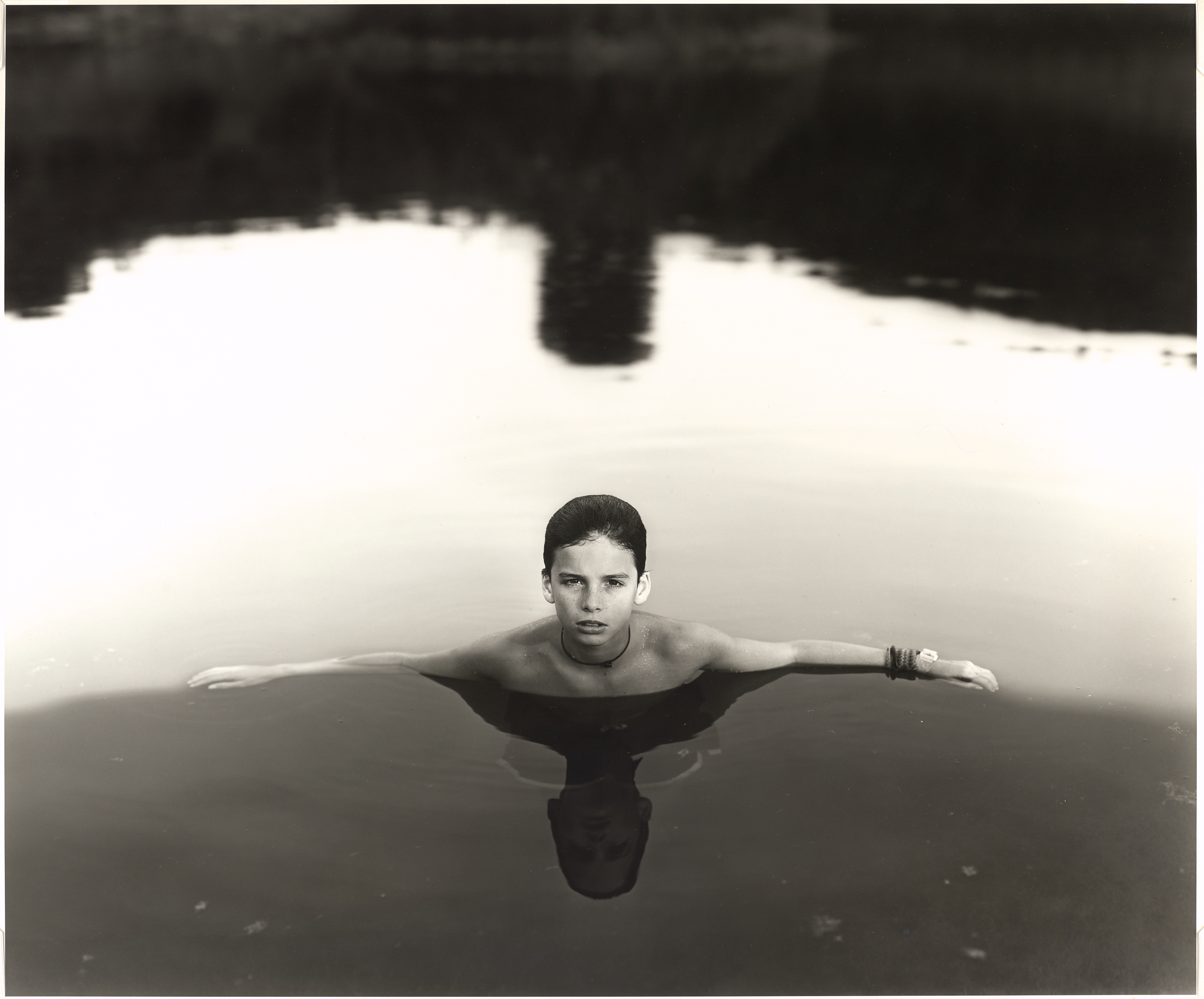 Sally Mann, American, born 1951. Under Blueberry Hill, 1991. Gelatin silver print, image: 48.3 × 58.4 cm. Museum purchase, Philip F. Maritz, Class of 1983, Photography Acquisitions Fund (2016-46) © Sally Mann, Courtesy of Gagosian Gallery