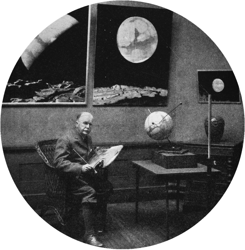 Howard Russell Butler, Perkin Collection of Astronomy and Astrophysics/AMNH