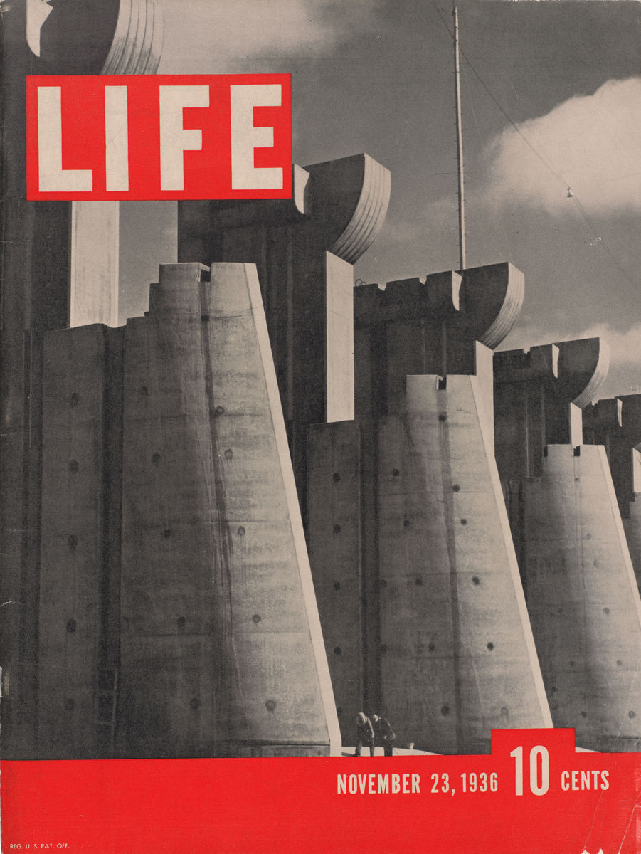 Margaret Bourke-White, American, 1904–1971, Cover of LIFE Magazine, November 23, 1936. LIFE Picture Collection.©1936 The Picture Collection Inc. All rights reserved.