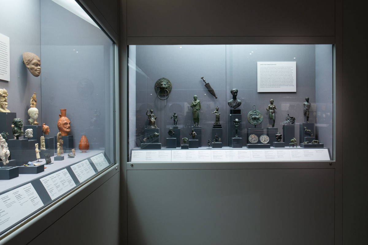 Greek and Roman bronzes in the Art of the Ancient Mediterranean gallery