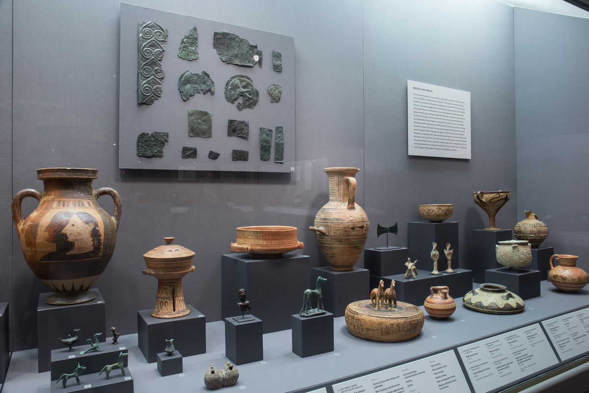 Greek works of Bronze Age and Archaic date in the Art of the Ancient Mediterranean gallery