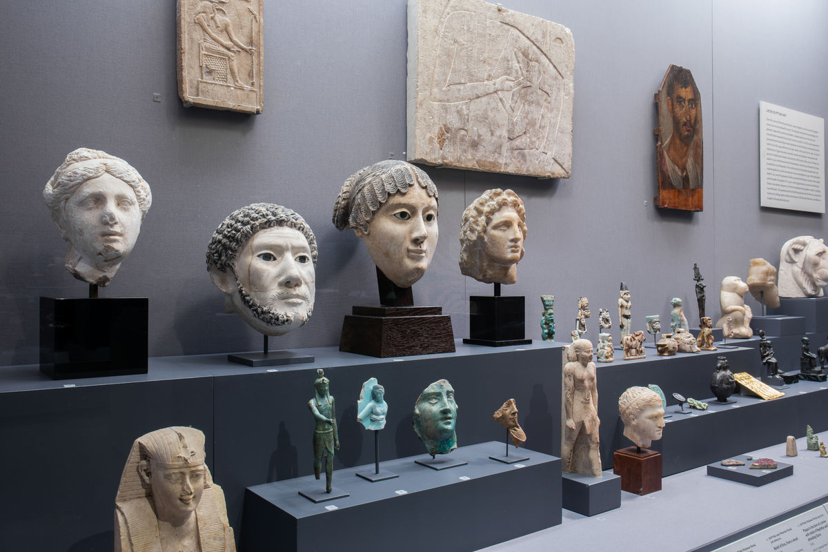 Later Egyptian art in the Art of the Ancient Mediterranean gallery