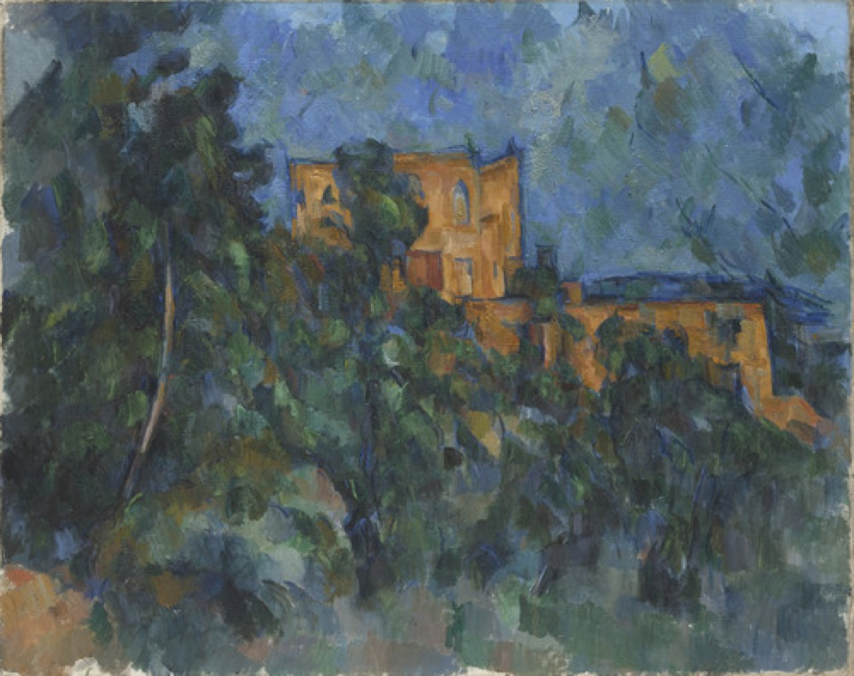 Paul Cézanne, French, 1839–1906. <em>Château Noir</em>, 1903–04. Oil on canvas, 73.6 x 93.2 cm. Museum of Modern Art, New York. Gift of Mrs. David M. Levy / Digital Image © The Museum of Modern Art/Licensed by SCALA / Art Resource, NY