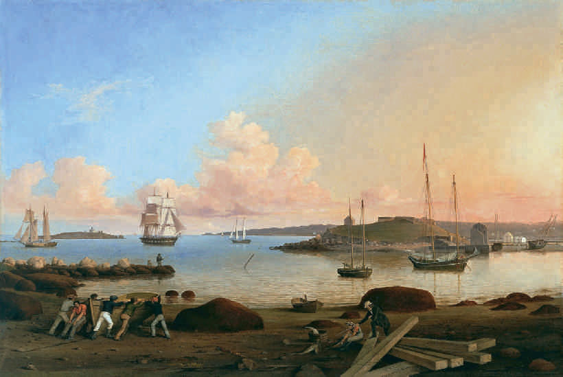 Fitz Henry Lane, The Fort and Ten Pound Island, Gloucester, 1847. Oil on canvas, 50.8 x 76.2 cm. Museo Thyssen-Bornemisza, Madrid