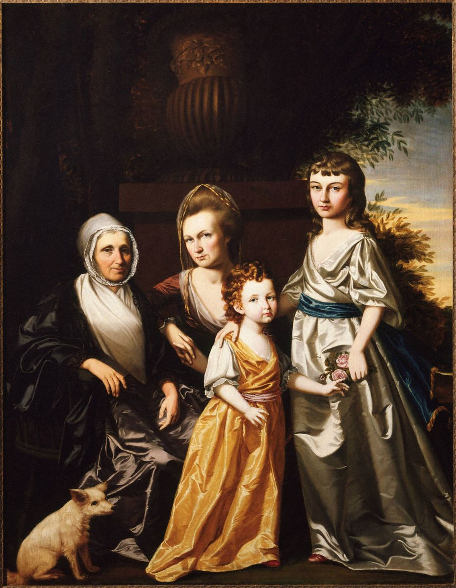 Fig. 3 / Henry Benbridge (American, 1743–1812), The Hartley Family, ca. 1787, Oil on canvas, 194 x 151 cm, Princeton University Art Museum