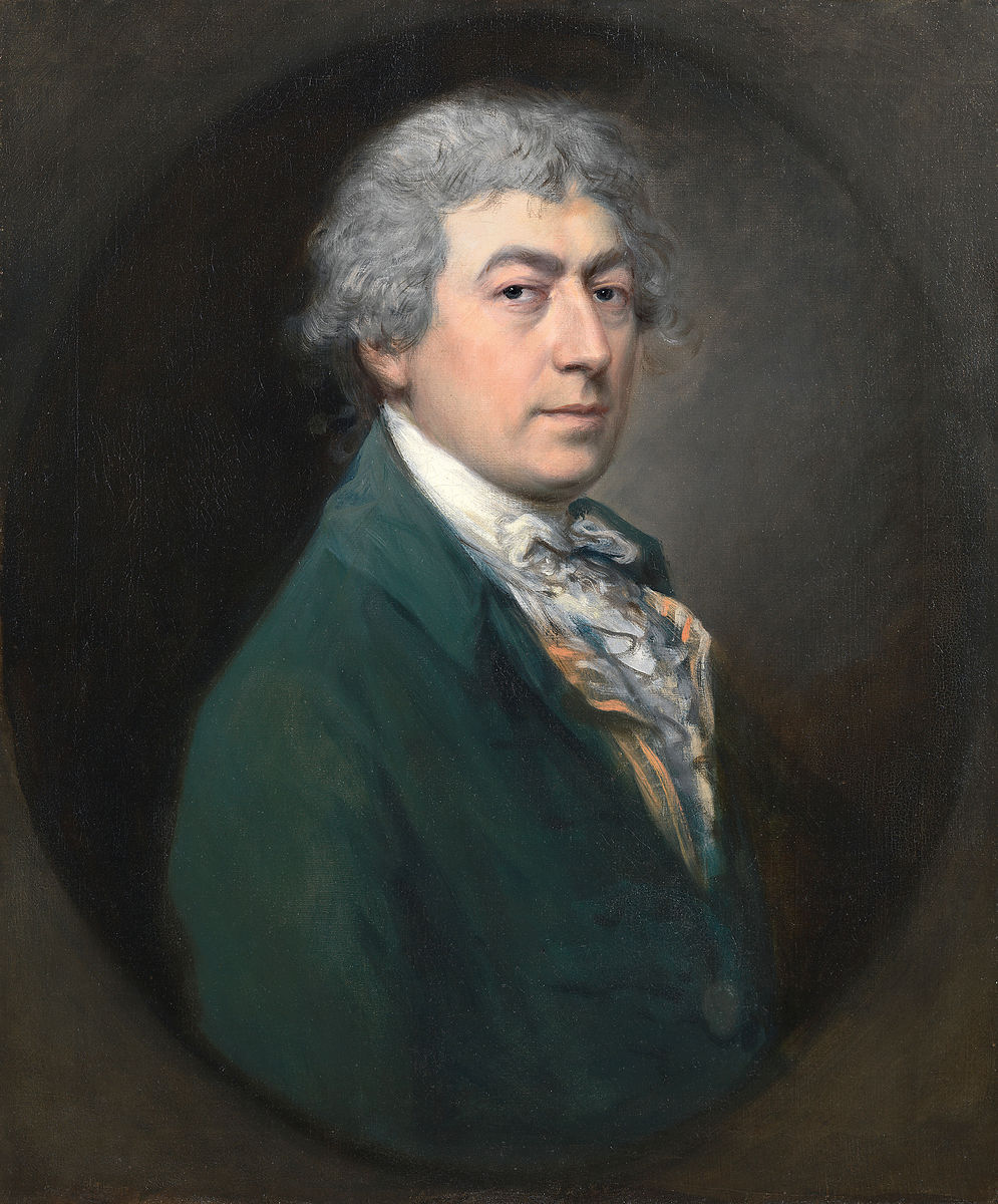 Thomas Gainsborough, English, 1727–1788, completed by Gainsborough Dupont, British, 1754–1797, Self -portrait, mid-1770s and 1790. Oil on canvas. The Samuel Courtland Trust. The Courtauld Gallery, London.