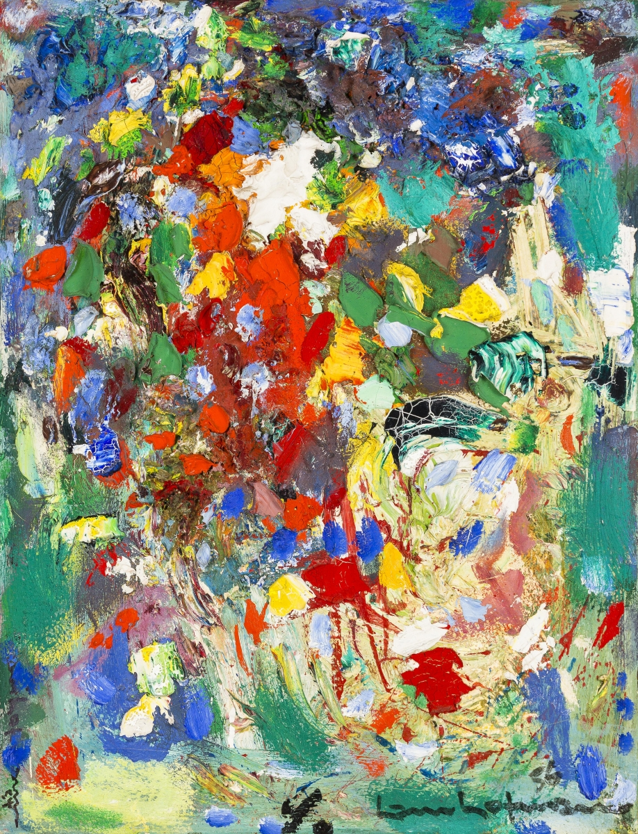 Hans Hofmann (American, born Germany, 1880–1966), Composition #3, 1952. Oil on canvas, 76.8 x 61.3 cm. Collection of Preston H. Haskell, Class of 1960. © 2014 Artists Rights Society (ARS), New York / VG Bild-Kunst, Bonn / photo: Douglas J. Eng