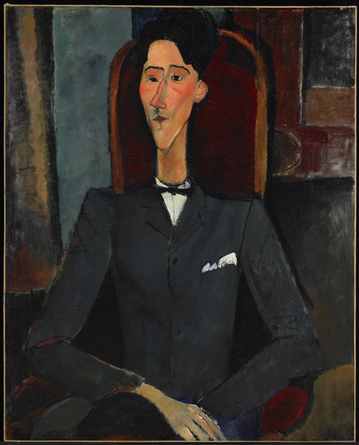 Amedeo Modigliani, Jean Cocteau, 1916. The Henry and Rose Pearlman Foundation, on loan since 1976 to the Princeton University Art Museum
