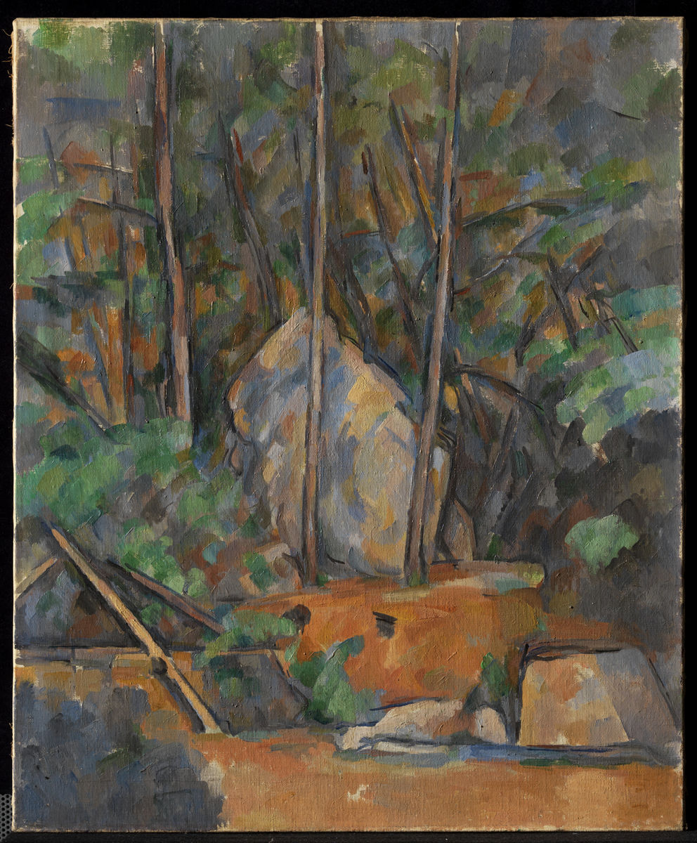 Paul Cézanne, Cistern in the Grounds of Château Noir, ca. 1900. Oil on canvas. The Henry and Rose Pearlman Foundation, on loan since 1976 to the Princeton University Art Museum