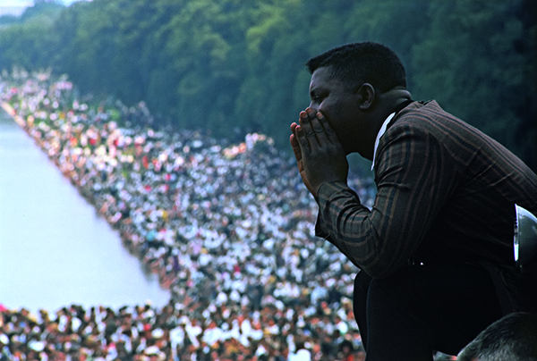 Gordon Parks (American, 1912–2006), Untitled, March on Washington for Jobs and Freedom, Washington, DC, August 28, 1963, printed 2016. Inkjet print, 35.4 × 52.5 cm. Princeton University Art Museum. Museum purchase, Hugh Leander Adams, Mary Trumbull Adams, and Hugh Trumbull Adams Princeton Art Fund. © The Gordon Parks Foundation