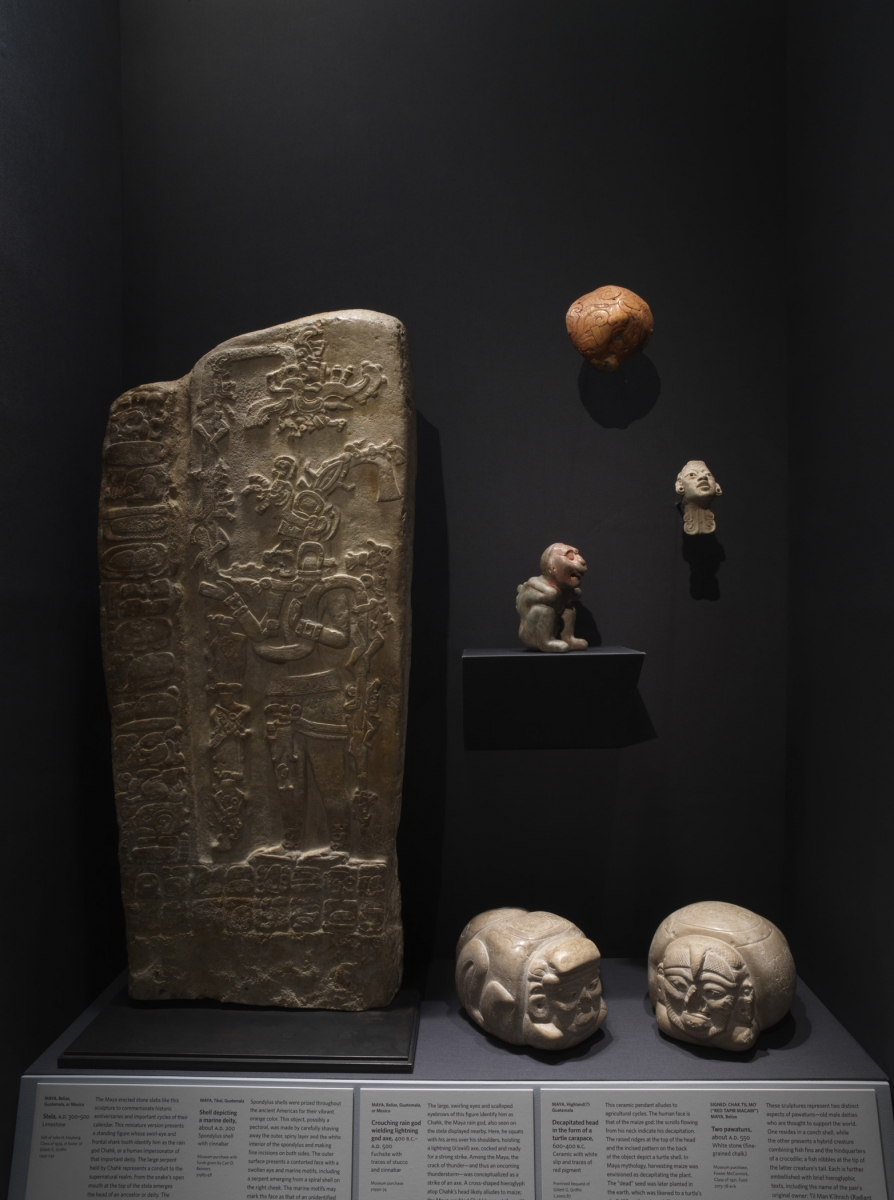 Early Classic Maya Works of art. Photo: Bruce M. White