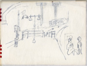 Untitled (Sketchbook), 1940s