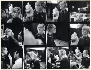Untitled (Casting Session), contact sheet, 1975