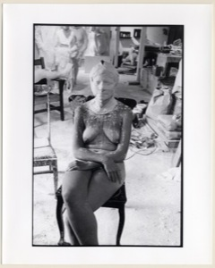 Untitled (Casting Session of Gay Block), black and white photograph, 1983