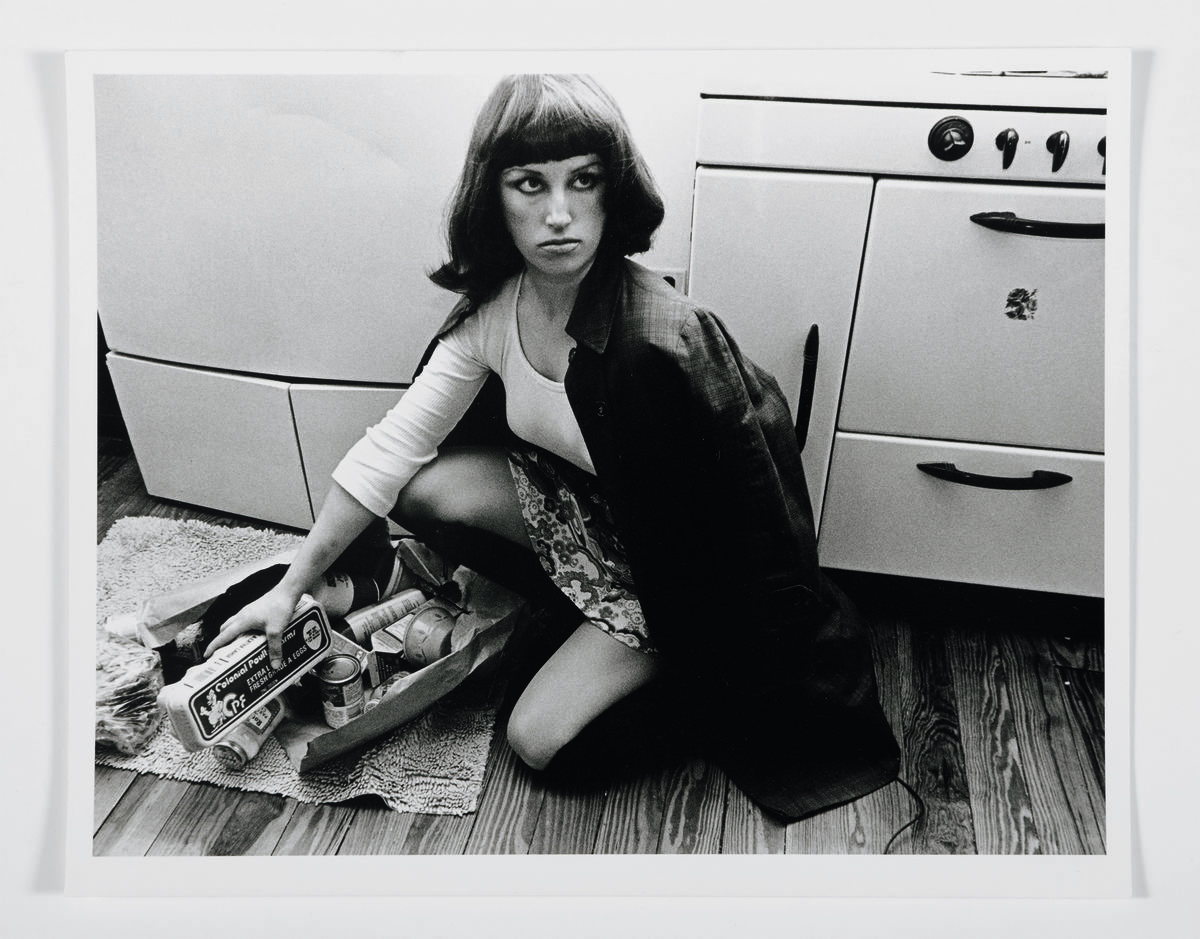 Cindy Sherman (born 1954, Glen Ridge, NJ; active New York, NY), Untitled Film Still #10, 1978. Gelatin silver print. Museum purchase, Fowler McCormick, Class of 1921, Fund. © Cindy Sherman / Photograph courtesy of Sotheby's, 2019