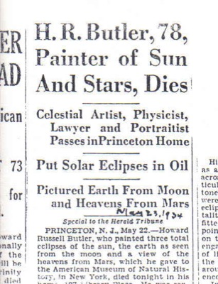 New York Herald Tribune, May 23, 1934