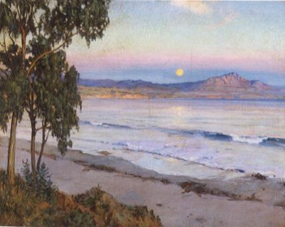 Moonrise, Miramar, 1921