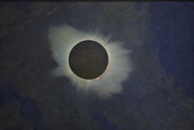 Howard Russell Butler, American, 1856-1934 Solar Eclipse, 1918 Oil on canvas Princeton University  PP357