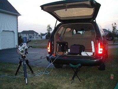 ©Robert	Vanderbei Mobile	Observatory	 Features: mobility, weather protection for electronic gear, a place to sleep, zero marginal cost