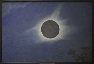 Howard Russell Butler, Solar Eclipse 1925, Princeton University, gift of H. Russell Butler Jr. (PP352)