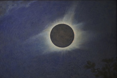 Howard Russell Butler, American, 1856-1934 Solar Eclipse, 1925 Oil on canvas Princeton University, gift of H. Russell Butler, Jr. PP352