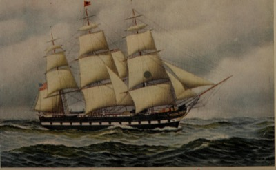 Charles H. Marshall, a packet ship built by William H. Webb in 1869 and named after Butler's grandfather, was the last packet designed and built for the Black Ball Line, for which Charles was proprietor and manager. Charles's father and grandfather were also Nantucket-born sea captains.