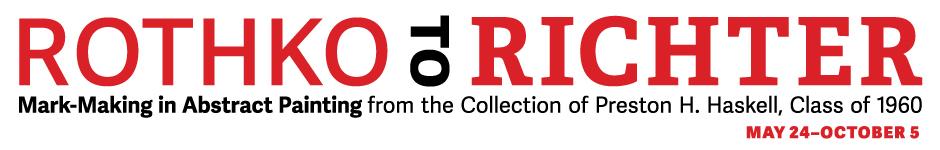 Rothko to Richter