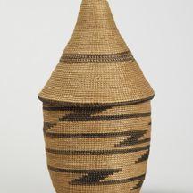 Basket with lid (ibeseke)