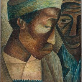 Friends by Elizabeth Catlett