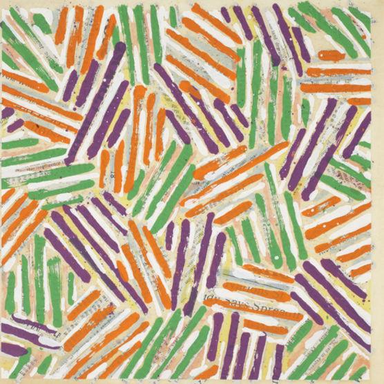 Jasper Johns, Untitled, 1977, Color screenprint . Gift of James Kraft, Class of 1957