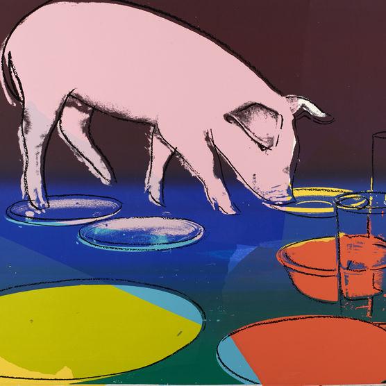 Andy Warhol. Fiesta Pig