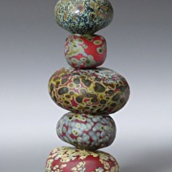 A glass cairn by Thomas Spake