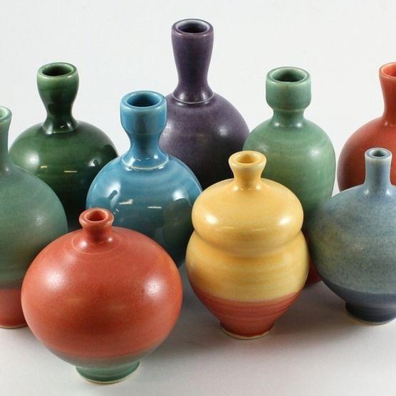 Mini vases by Gelsenliters