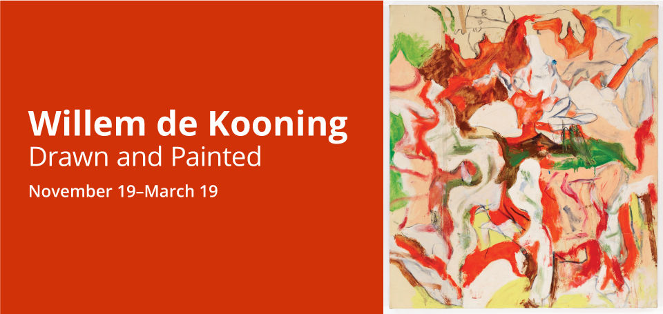 Willem de Kooning, <no title>, ca. 1970–77. The Willem de Kooning Foundation. © 2016 The Willem de Kooning Foundation / ARS NYC