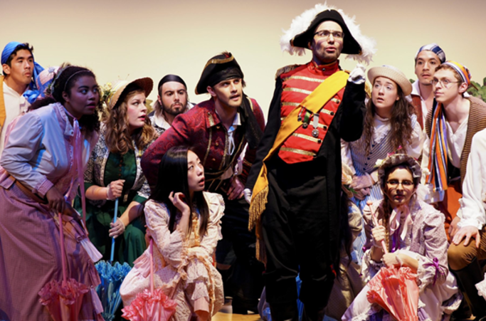 Princeton Opera Company performing.