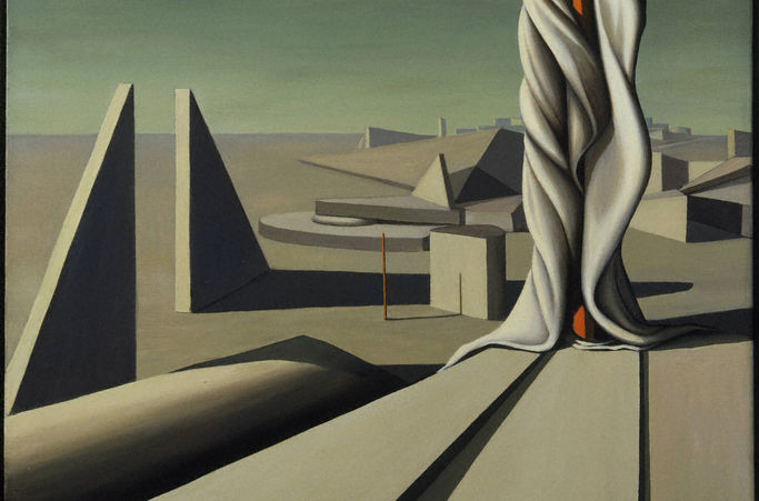 Kay Sage, I Saw Three Cities, 1944
