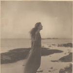 Clarence H. White, The Sea (Rose Pastor Stokes, Caritas Island, Connecticut),1909. Platinum print. The Clarence H. White Collection, Princeton University Art Museum (x1983-496)