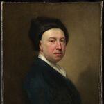 Self-portrait by English artist Jonathan Richardson, 1733