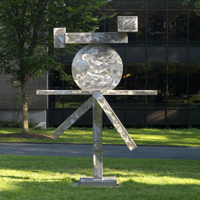 David Smith, American, 1906–1965: Cubi XIII, 1963. Stainless steel. The John B. Putnam Jr. Memorial Collection, Princeton Univer