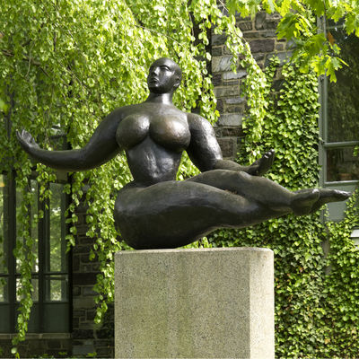 Gaston Lachaise, American, 1882–1935: Floating Figure, 1927. Cast bronze, The John B. Putnam Jr. Memorial Collection, Princeton