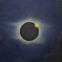 Howard Russell Butler, American, 1856–1934. Solar Eclipse, Lompoc 1923. Oil on canvas. Princeton University, gift of H. Russell Butler Jr. (PP351)