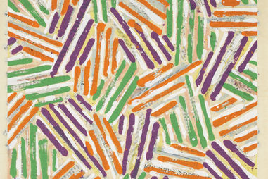 Jasper Johns, Untitled, 1977, Color screenprint . Gift of James Kraft, Class of 1957