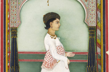 Indian. Mana Lalji, ca. 1860. Opaque watercolor and gold on paper