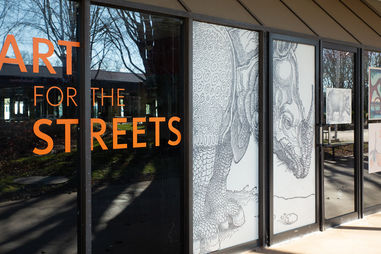 Art for the Streets installation