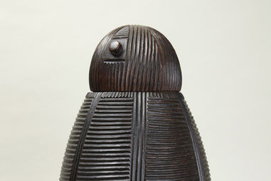 Zulu artist. Vessel with Lid.
