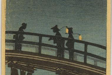 Moonlight at Ohashi Bridge