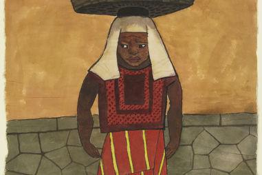 Diego Rivera, Mexican, 1886–1957 Mujer con Canasta