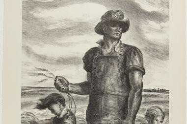 John Steuart Curry. Our Good Earth, 1938