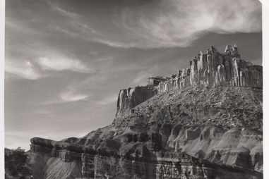 Minor White. The Castle, Capitol Reef National Park, Utah