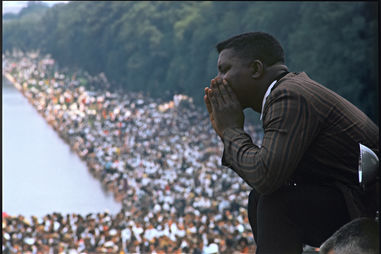 Gordon Parks, for LIFE magazine. Untitled, March on Washington for Jobs and Freedom, Washington, D.C., August 28, 1963, printed 2016. Inkjet print. Princeton University Art Museum / © The Gordon Parks Foundation